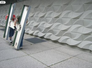 Die Buchstaben ziehen um. Foto: Buchstabenmuseum