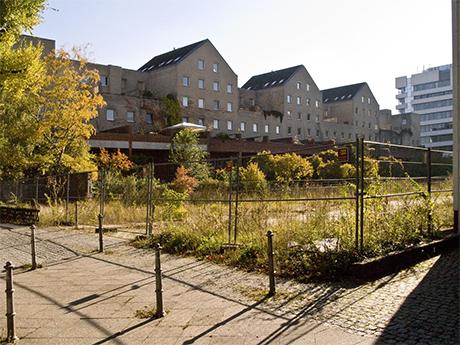 "Hofseite, Zustand im November 2010"". Bild: Stephan Becker"