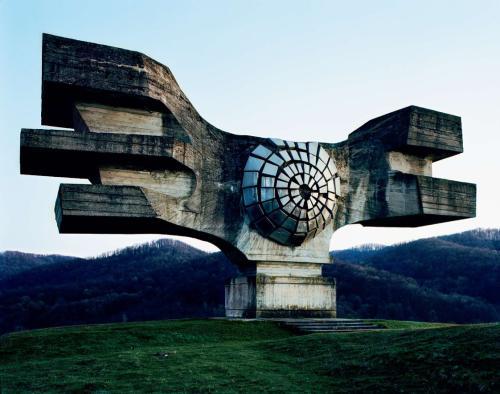 Monumentales Denkmal in Osteuropa
