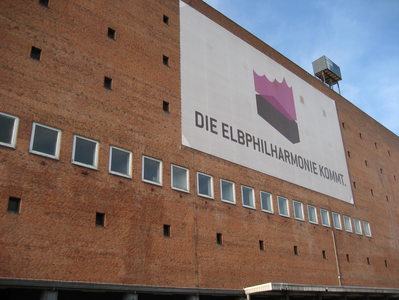 Großprojekt Elbphilharmie