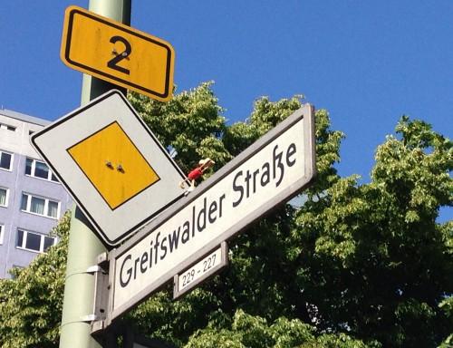 Korkmännchen in Berlin