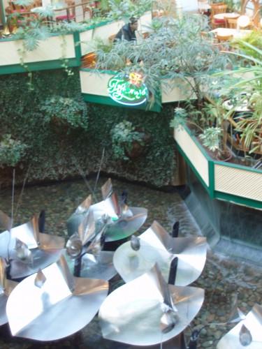 Lotusbrunnen im Europacenter, 2012