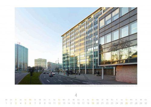 Kalenderfoto April: Ernst-Reuter-Platz