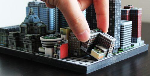 Die Stadt aus dem 3D-Drucker   © ittyblox