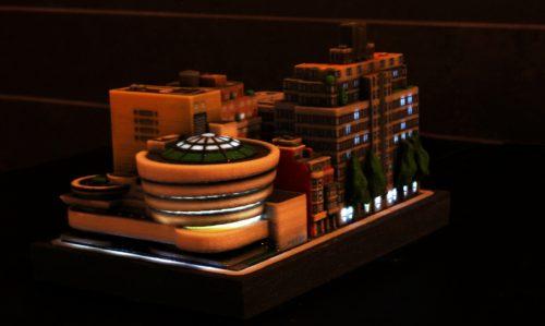 Die Gebäude lassen sich auch beleuchten   © ittyblox