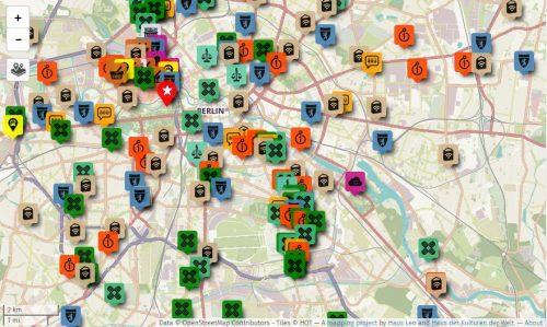 Wichtige Informationen für Flüchtlinge kartiert