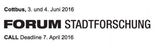 Banner Forum Stadtforschung
