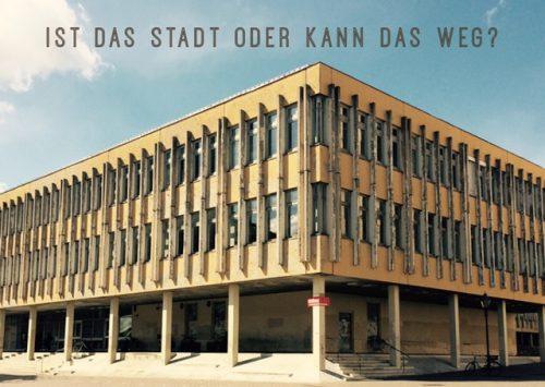 Postkarte von neudeuter zur FH Potsdam