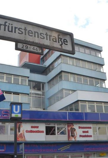 Kurfürstenstraße in Tiergarten