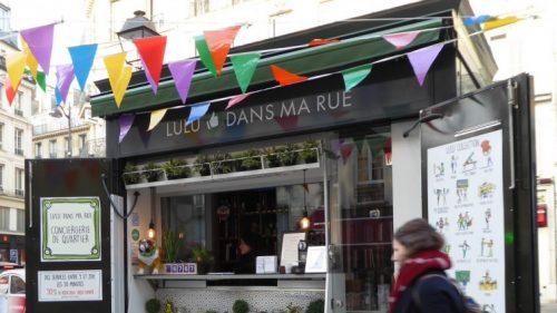 Der erste Kiosk im Marais-Viertel