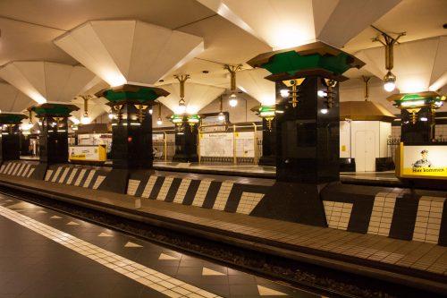 U-Bahnhof Rathaus Spandau, Rainer Rümmler, 1984