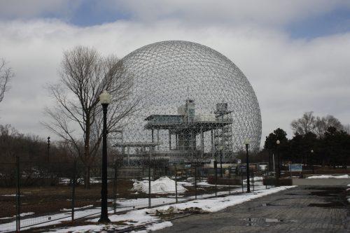 Biosphére von Bucky Fuller – ehem. US-Pavillion