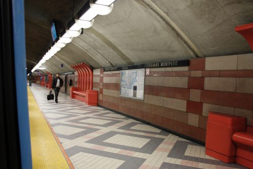 U-Bahn Montréal – Station Villa Maria