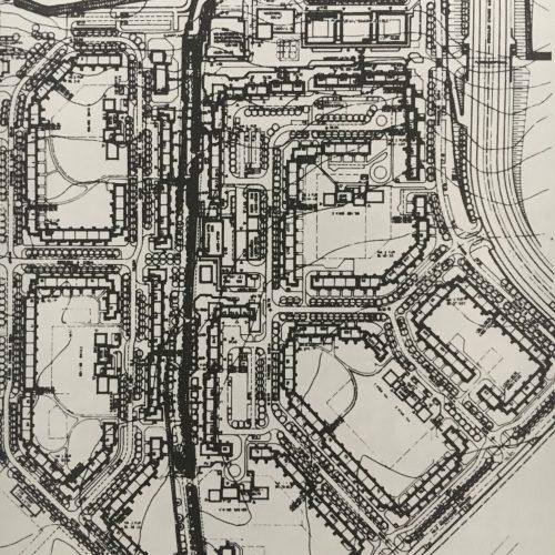 Grundplan: Wohnkomplex 3.1, Berlin-Hellersdorf, 1987.