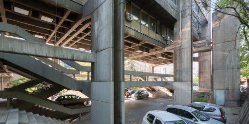Branislav Jovin: Institut für Stadtplanung, Belgrad, Serbien, 1967–1970. Foto: Relja Ivanic 2016