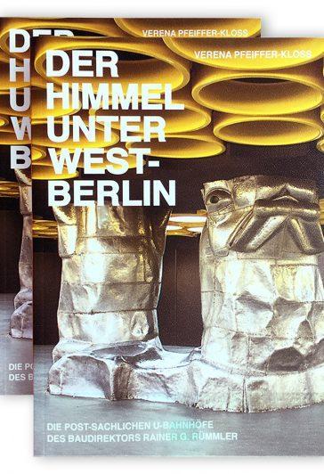 Cover urbanophil Himmel unter West-Berlin von Verena Pfeiffer-Kloss