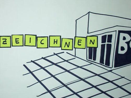 Filmstill zum Festival EInzeichnen der Berlinischen Galerie