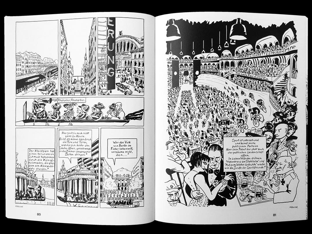 Ausschnitt aus Verrueckt Comic zum Berliner Schloss