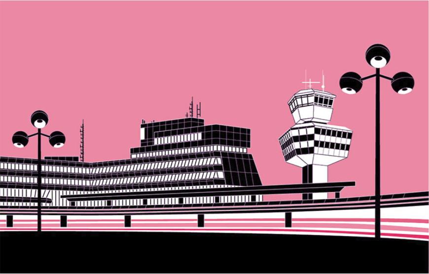 Flughafen Tegel im s-wert Kalender 2021