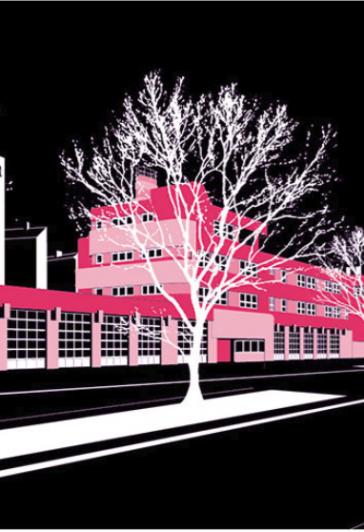 Feuerwache Kreuzberg im S-Wert Kalender 2021
