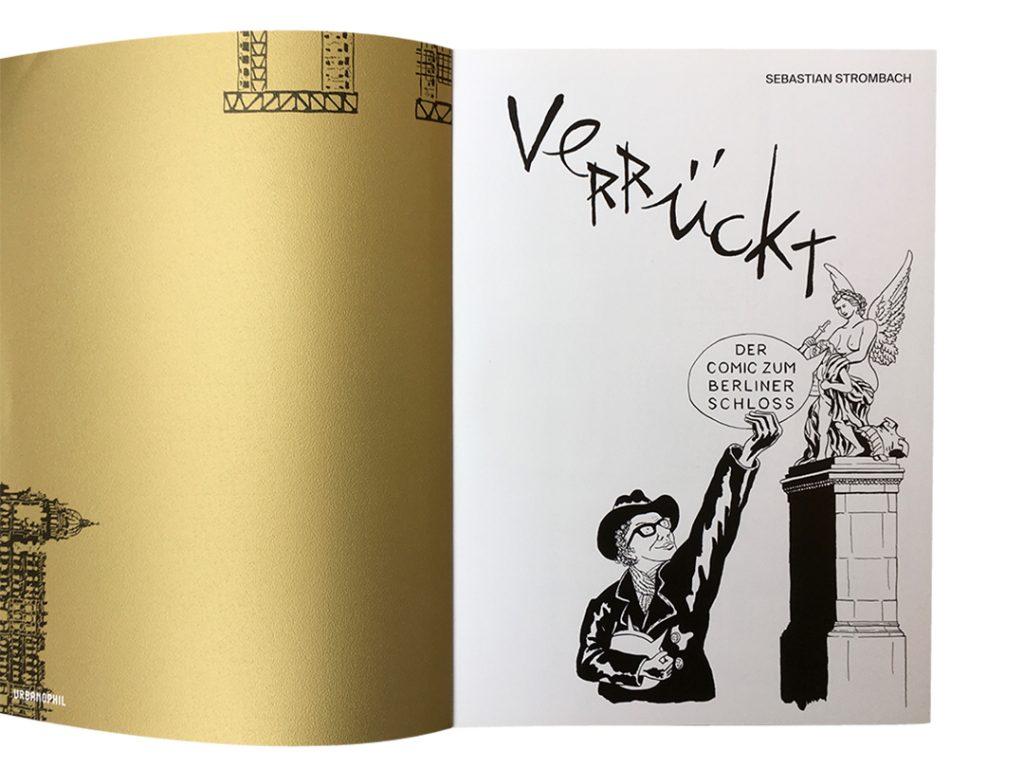 Eröffnungsseite Comic zum Berliner Schloss
