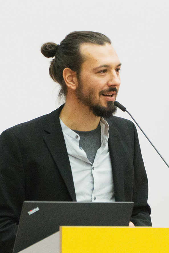 Felix Gartenstein beim Vortrag für Urbanophil