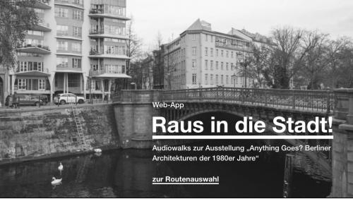 Web-App der Berlinischen Galerie zur Ausstellung Anything Goes